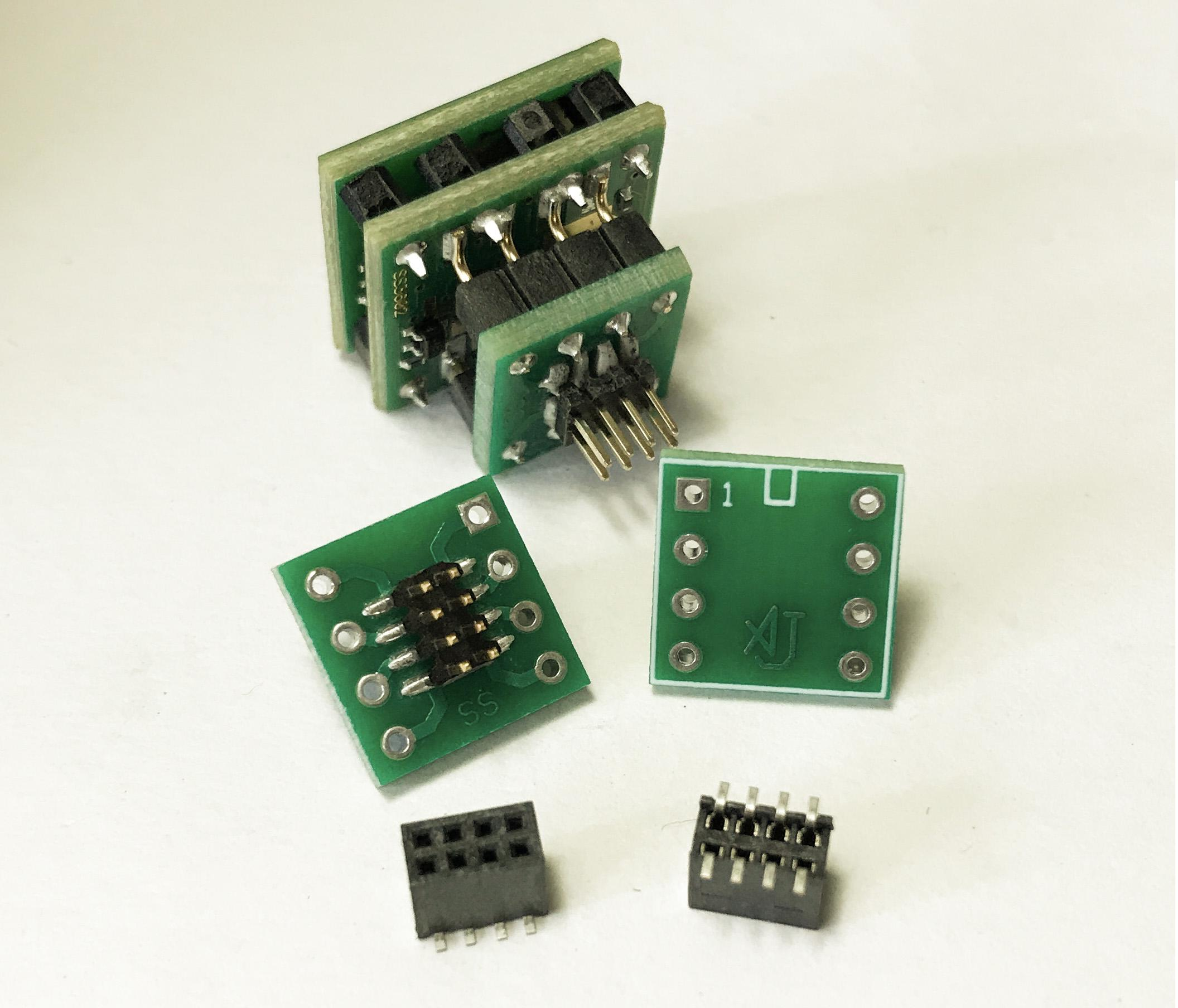 SOIC to DIP adapter