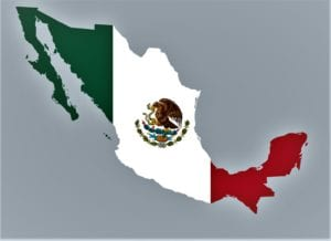 mexico country and flag