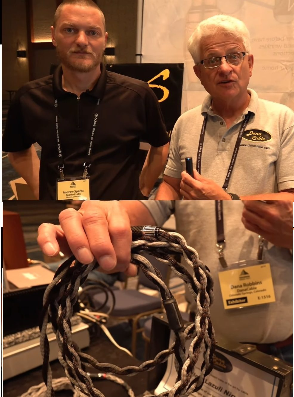 Dana Cable at Rocky Mountain Audio Fest RMAF