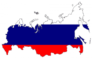 russia country and flag